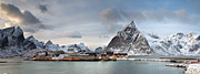 Production Photos - Sacrisoy and Olstind Lofoten Islands Norway by John Potter