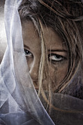 Teenager Posters - Sad Girl II Poster by Erik Brede