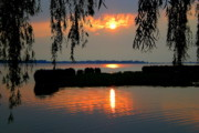 Weeping Willow Photos - Sadness at Days End by Robert Harmon