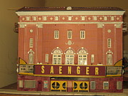 Saenger Metal Prints - Saenger Theater Metal Print by Joe McClellan