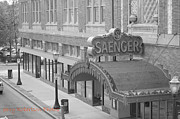 Saenger Metal Prints - Saenger Theatre Metal Print by Jerry Robertson