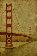 Golden Gate Bridge Posters - Safe Passage Poster by Andrew Paranavitana