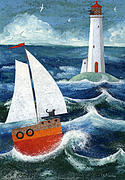 Safe Passage Print by Peter Adderley