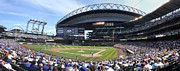 Seattle Mariners Framed Prints - Safeco Field Seattle Framed Print by Bill Cubitt