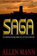 Book Jacket Design Art - SAGA inspired by Game of Thrones by Mike Nellums