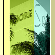 Miami Digital Art Posters - Sagamore 2 Poster by Chris Lopez Studio