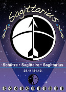 Sign Of Zodiac Digital Art - Sagittarius by Fabian Roessler