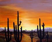 Carol Sabo - Saguaro Sunset