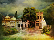 Iqra University Paintings - Saidpur Village by Catf