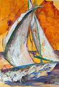 My Ocean Originals - Sail Away IV by Sharon Sieben