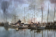 Sail Boats Posters - Sail Away With Me Poster by Kathy Jennings