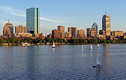Boston Skyline Posters - Sail Boston Poster by Juergen Roth