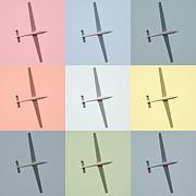 Sail Plane  Print by Tommy Hammarsten