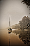Dale Conyers - Sailbaot in the fog