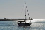 Susan Wiedmann - Sailboat Heading Home