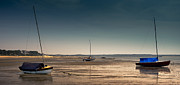 Dapixara Art - Sailboats at Low Tide