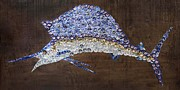 Sailfish Mixed Media - Sailfish #1 by Kay Galloway