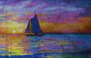 Anne-Elizabeth Whiteway - Sailing at Sundown