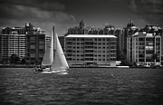 Mario Celzner Metal Prints - Sailing Away  Metal Print by Mario Celzner