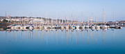 Pleasure Photos - Sailing Boats in the Howth Marina by Semmick Photo
