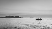 Fishing Trawler Prints - Sailing Home Print by Semmick Photo