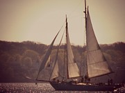 Christy Beal - Sailing in Portlad Maine