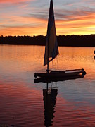 Naomi Framed Prints - Sailing Lake Naomi 1 Framed Print by Jack Paolini