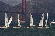 Golden Gate Originals - Sailing on the Bay 2 by Alberta Brown Buller