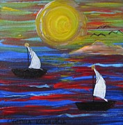 Cynthia Koch - Sailing Over The...