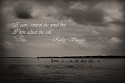 Kelly Hazel - Sailing Quote