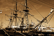 Commander Photos - Sailing Ships by Cheryl Young