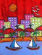 Marlene MALKA Harris - Sailing South Beach