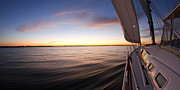 Dustin K Ryan - Sailing Sunset Beneteau...