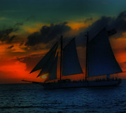 Perry Frantzman - Sailing Sunset