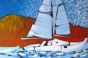 Marc L Gagnon - Sailing The Coastline