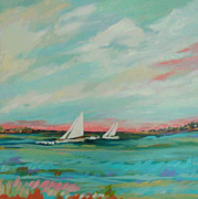Karen Fields - Sailing the Inlet