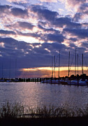 Sailing Metal Prints - Sailors Delight Metal Print by Skip Willits