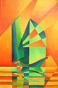 Fishing Enthusiast Art - Sails at Sunrise by Tracey Harrington-Simpson