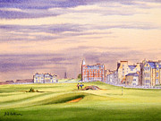 Pga Paintings - Saint Andrews Golf Course Scotland - 17Th Green by Bill Holkham