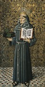 Franciscan Saints Posters - Saint Anthony Of Padua. 15th C Poster by Everett