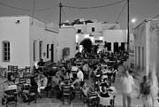 Cafe Photos - Saint Athanasios square by George Atsametakis