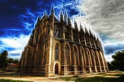 Tourist Attraction Digital Art - Saint Barbara Church Kutna Hora by Michal Boubin