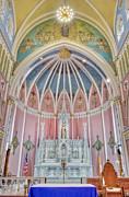 Saint Bridgets Altar Print by Susan Candelario