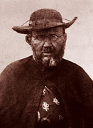 Molokai Art - Saint Damien by James Temple