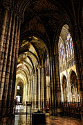 Cathedral Photos - Saint Denis Cathedral by Olivier Le Queinec