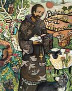 Saint Francis Print by Jen Norton