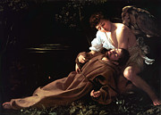 Seraph Prints - Saint Francis of Assisi in Ecstasy Print by Caravaggio