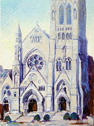 University Blvd Prints - Saint Francis Xaviere College Church - St.Louis Print by Irek Szelag