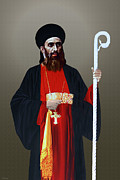 Ravi Art - Saint Gregorios of Parumala by A Samuel