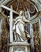 Saint Art - Saint Helena - St Peters Basilica by Jon Berghoff